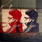 Dizzy Gillespie  120 x 120 cm